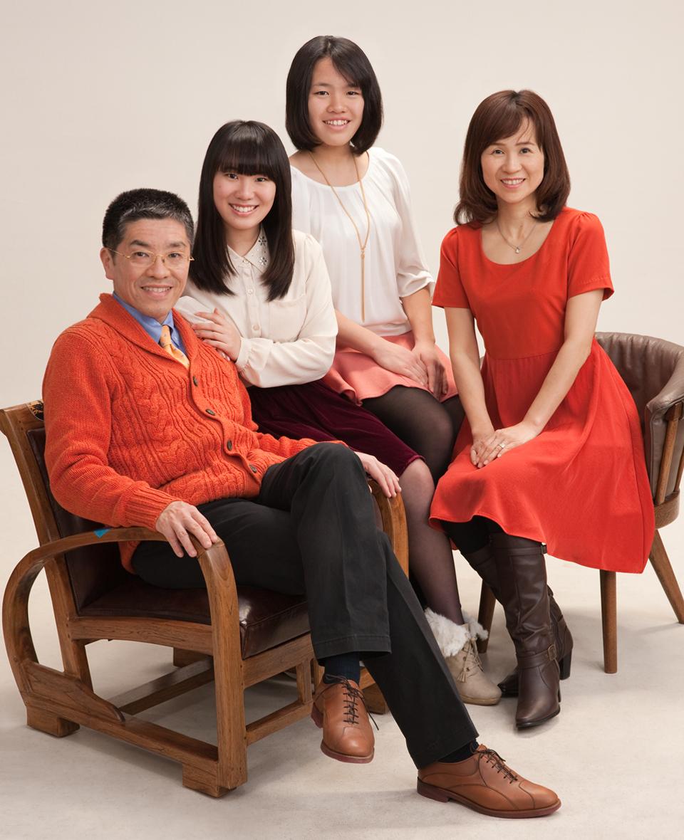 ご家族写真 サンプル画像