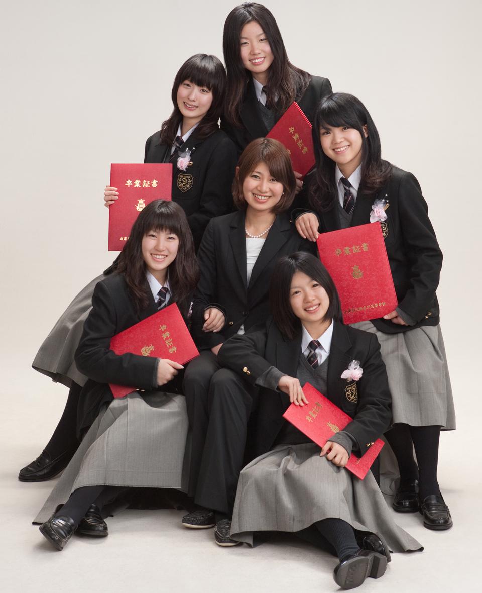 卒業・入学記念 サンプル画像